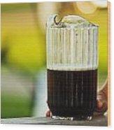 Beer 30 Somewhere Wood Print