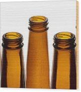 Beer Bottles 1 A Wood Print