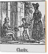 Beggar, C1830 Wood Print