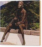 Beggar Gil In Monchique Wood Print