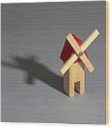 Behavior Of A Shadow Vertical, Photo 3 Wood Print
