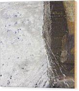 Behind Bridal Veil Falls In Dupont State Park Nc Wood Print