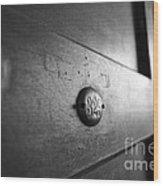 Behind Door No. 329 Wood Print
