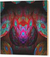 Behind The Eyes 3  Wood Print
