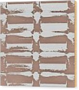 Beige Abstract Wood Print