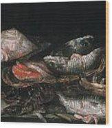 Beijeren: Fish Wood Print