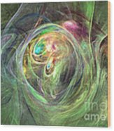 Being Bold - Abstract Art Wood Print