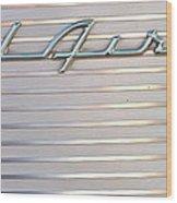 Bel Air Emblem Wood Print