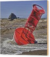 Bell Buoy Wood Print by Garry Gay