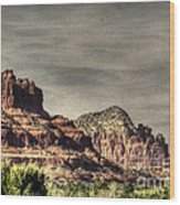 Bell Rock - Sedona Wood Print by Dan Stone
