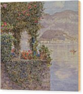 Bellagio From Tremezzo Wood Print