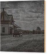 Bellis Road Wood Print