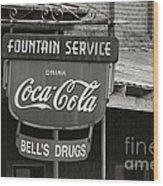 Bell's Drugs - D003280 Wood Print