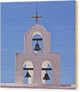 Bells Of San Xavier Wood Print