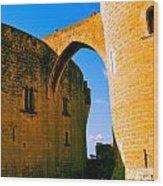 Bellver Castle Mallorca Wood Print