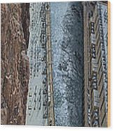 Below Hoover Dam Wood Print