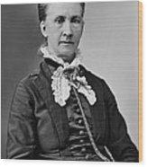 Belva Lockwood 1830-1917, Was A Lawyer Wood Print