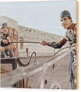 Ben-hur, From Left Francis X. Bushman Wood Print by Everett
