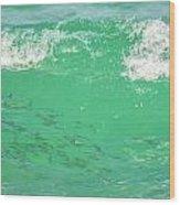 Beneath The Waves Wood Print
