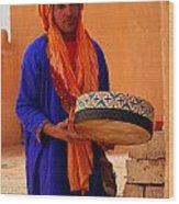Berber  Wood Print