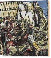 Berber Soldiers Wood Print