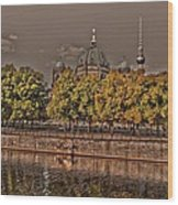 Berlin Cathedral ... Wood Print by Juergen Weiss