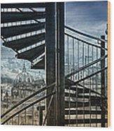Berlin Wood Print