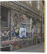 Berlin Graffiti - 1 Wood Print