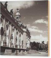 Berlin - Sanssouci Palace Wood Print