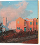 Bermuda Colors Wood Print