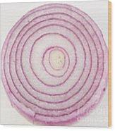 Bermuda Onion Spiral Wood Print