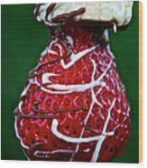 Berry Banana Kabob Wood Print by Susan Herber