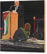 Bethlehem Mayor Dr. Victor Batarseh Wood Print