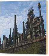 Bethlehem Steel Wood Print
