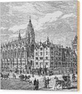 Bethnal Green Market, 1869 Wood Print by Granger