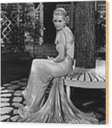Bette Davis In The 1930s Wood Print by Everett
