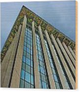 Beverly Hills Building Wood Print