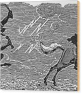 Bewick: Devil Wood Print