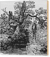 Bewick: Hanged Man Wood Print