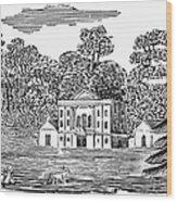 Bewick: Landscape Wood Print