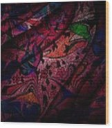The Veil Wood Print