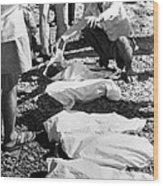 Bhopal Disaster Victims, India, 1984 Wood Print