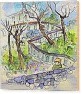 Biarritz 08 Wood Print