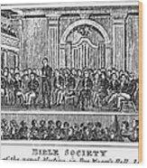 Bible Societies Wood Print