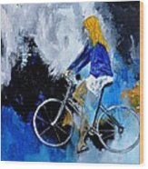 Bicycle 77 Wood Print