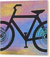 Bicycle Shop Wood Print