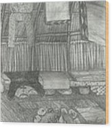 Bidek Wood Print