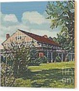 Bienvenue Country Club In Rocky Mount N C Wood Print