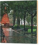 Bienville Square Wood Print