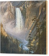 Bierstadt: Yellowstone Wood Print by Granger